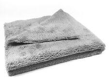 Craft-Equip randlos Microfasertuch Poliertuch in grau 40x40cm 500GSM MS-EPT4040