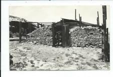 Real Photo Postcard Post Card Point Of Rocks Wyoming Wyo Wy Pony Express Ruins