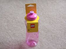 LEGO - ( SET 850806 - DRINKING WATER BOTTLE - PINK ) BRAND NEW