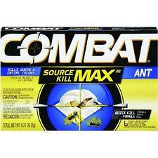 12-Combat .21 Oz  Quick Kill Ant Killer Poison Bait Station 6 Stations/Pk 55901