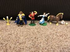 Beauty And The Beast Figure Play Set Disney Pvc Toy Belle
