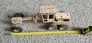 Vintage John Deere Construction 1/25 Scale Road Grader Ertl Tonka Tractor Loader