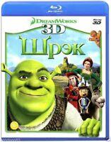 Shrek 3D (Blu-ray 3D) Rus,Eng,Dutch,French,German,Italian,Portuguese,Spanish