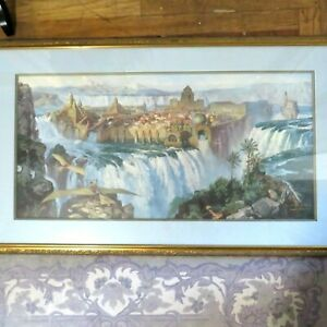 Waterfall City by James Gurney Signed TWICE Open Edition Print Framed / Unframed