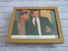 Framed Lobby card Front house Press Promo Photo wall street charlie sheen