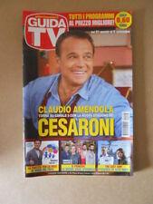 GUIDA TV n°35  2014 [G764] CLAUDIO AMENDOLA