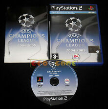 UEFA CHAMPIONS LEAGUE 2004-2005 Ps2 Versione Italiana ••••• COMPLETO