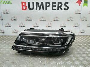 VW TIGUAN 5N 2016 - 18 GENUINE HEADLIGHT LEFT PASSENGER SIDE LED 5NC941081D