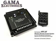HPC-8F RF Remote Control System 8-Function Hydraulic Pump Control