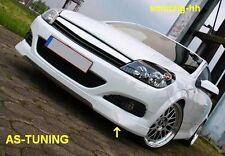 Front labio Front alerón labio opc-Look Opel Astra H GTC opc-Look + Adhesivo