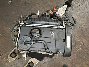 2005-2009 VW Passat B6 2.0 TDI BKP Engine With Injectors And Pump 102k miles