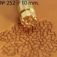 Leather crafting stamp tool for leather crafts brass saddle making stamps #68
