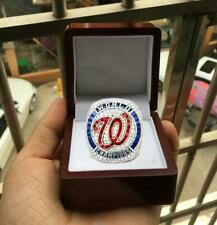 2019 2020 Washington Nationals World Series Team Ring With Wooden BOX