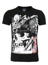 Akito Tanaka Slim Fit T-Shirt  -SKULL-  Japan Style Shirt #895