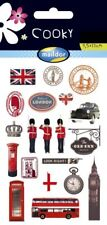 Maildor 20 tlg. Sticker Set Cooky London, 3D Sticker