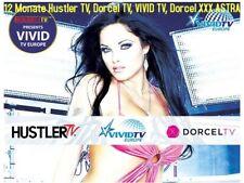 12 Mon. Hustler TV/ Dorcel TV / VIVID TV / Dorcel XXX ASTRA Viaccess Karte FSK18