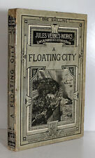A Floating City Jules Verne Circa 1876 9 Seven Plates Sampson Low Paperback