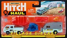 2021 Matchbox Hitch & Haul #4 Mbx Wave Rider Vw Transporter Cab / Cargo In Bed