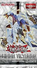 Yu-Gi-Oh! Shining Victories Booster Pack 1st Edition New & Sealed Mint!