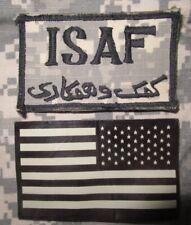 Konvolut - ACU - ISAF & IR Flagge - Klett
