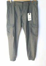Pantaloni da uomo Cargo in lana