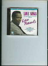 LOVE SONGS by LOU RAWLS - CD -  WHAT NOW MY LOVE, YESTERDAY, GENTLE ON MY MIND