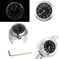 New Handlebar Clock Waterproof Motorcycle Motorbike Handlebar Mount Clock Watch