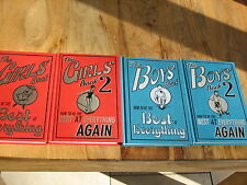 HOW TO BE THE BEST AT EVERTHING BOYS & GIRLS X4 BOOKS 1 & 2 EX.CON