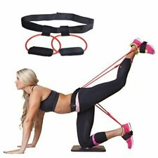 Gym Exercise Trainer Fitness Workout At Home Waist Belt Pedal Resistance Active
