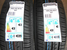 2x 185/65 15 88T BRIDGESTONE 2x 1856515 BRAND NEW PREMIUM QUALITY CAR TYRES