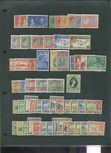 St Kitts & Nevis mis period MH collection