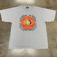 NCAA Final Four Graphic Gray T Shirt Size XL