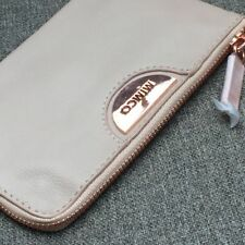 MIMCO ECHO PANCAKE ROSE GOLD SMALL POUCH LEATHER • AUTHENTIC RRP $79.95