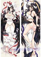 Dakimakura Albedo Overlord Body Pillow Case Hug Anime 150 x 50 NEW