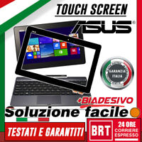 VETRO+TOUCH SCREEN CORNICE ASUS TRANSFORMER BOOK T100 T100T T100TA DISPLAY NERO!
