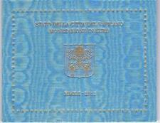 Vatikan 2012 Kursmünzensatz Papst Benedikt XVI  BU
