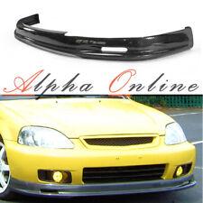 Honda Civic EK 99-00 Carbon Fibre Mugen Style Front Lip