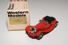 I WESTERN MODELS WM WMS 11 1938 JAGUAR SS 100 3.5 LITRE RED MINT BOXED