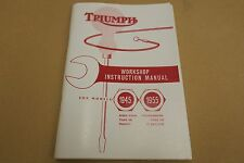 TRIUMPH PRE UNIT GENUINE WORKSHOP MANUAL 1945-55 3T 5T.T100,TR5,6T,TR6,T110