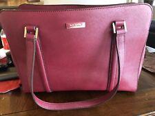 kate spade handbag Red Plum