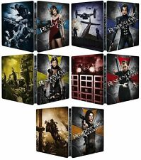 Resident Evil 1-5 - Limited Edition Steelbook Collection (Blu-ray) *BRAND NEW*