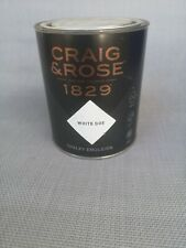 Craig & Rose 1829 Chalky Emulsion -  white doe - 750ml wall&siling 7-9sqm cover