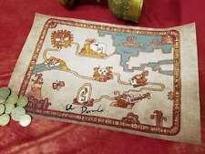 Road To El Dorado Map – Cloth Map Scroll Of Tulio And Miguel