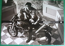 DUCATI MOTO MONSTER 620 IE S4 900 IE 750 IE CATALOGO CATALOG  BROCHURE