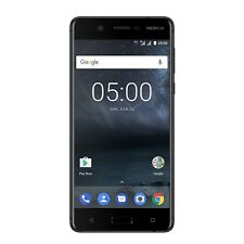 "Nokia 5 schwarz 16GB Dual Sim LTE Android Smartphone ohne Simlock 5,2"" 13MPX"