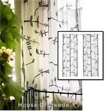 Polyester Modern Unlined Panel Window Curtains