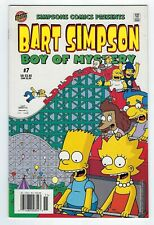 Simpson Comics presents BART SIMPSON Boy of Mystery #7 BONGO 2002 *High Grade.