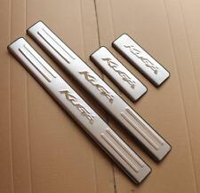 Stainless Steel Auto Door Side Sill Scuff Protector Plates for Ford Kuga 13-17