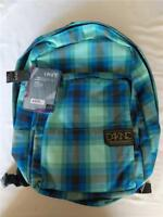 New Dakine Lark Skyler Backpack School Bag Blue Plaid 23L / Authentic Girl/Women