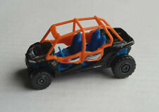 Majorette Explorer Polaris RZR XP 4 1000 EPS schwarz/orange/blau Quad Off-Road